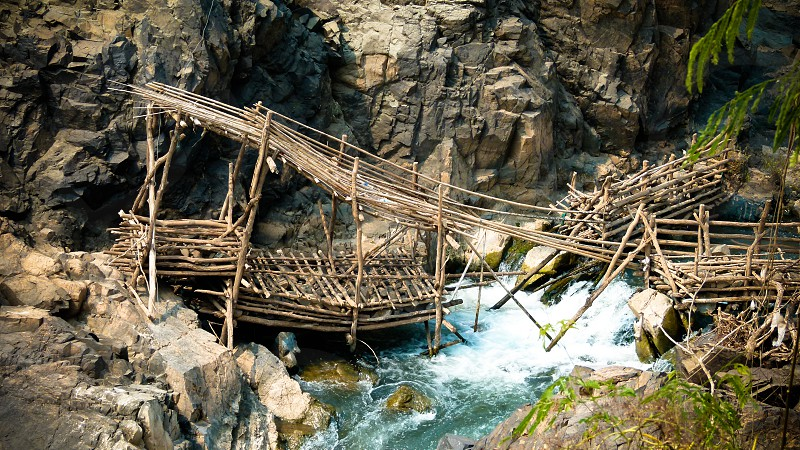 Broken Bridge (Laos) photo