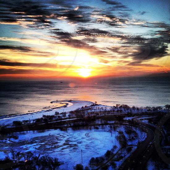 Lake Michigan Chicago IL photo