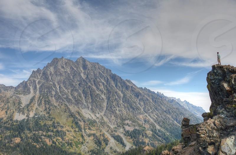 Mountains Hiking Peaks Epic photo