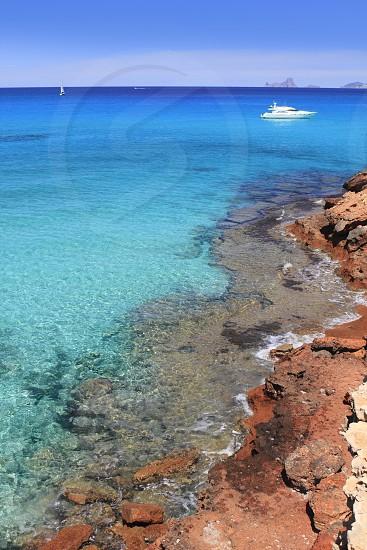 Cala Saona Formentera Balearic Islands beautiful beach mediterranean photo