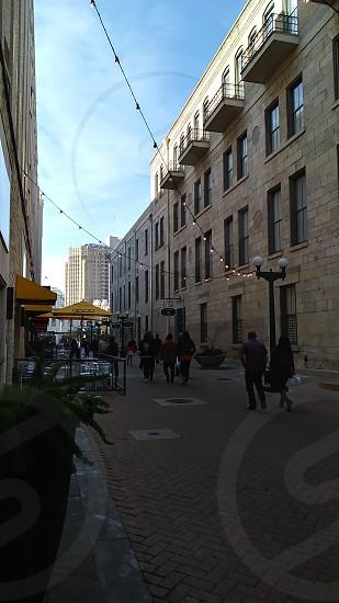 Outside Rivercenter Mall- San Antonio Texas USA photo