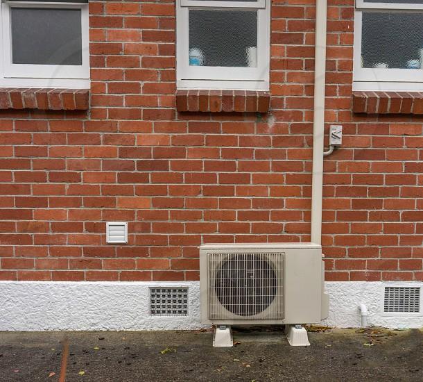 Outdoor heatpump photo