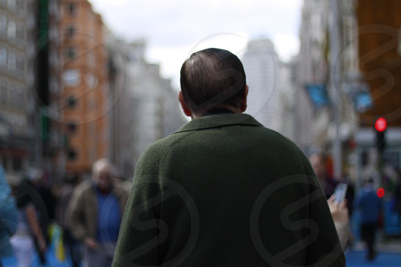old man wisdom madrid street Gran Via Europe Europa city people man light day hombre urban ciudad travel traveling walking walker life photo