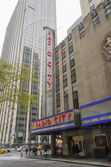 The historical Radio City Music Hall in New York photo