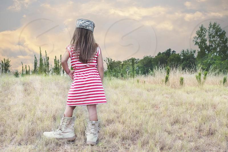 Army Girl photo