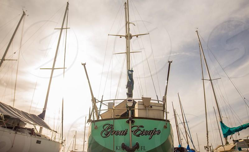 Escape wanderlust travel sailing photo