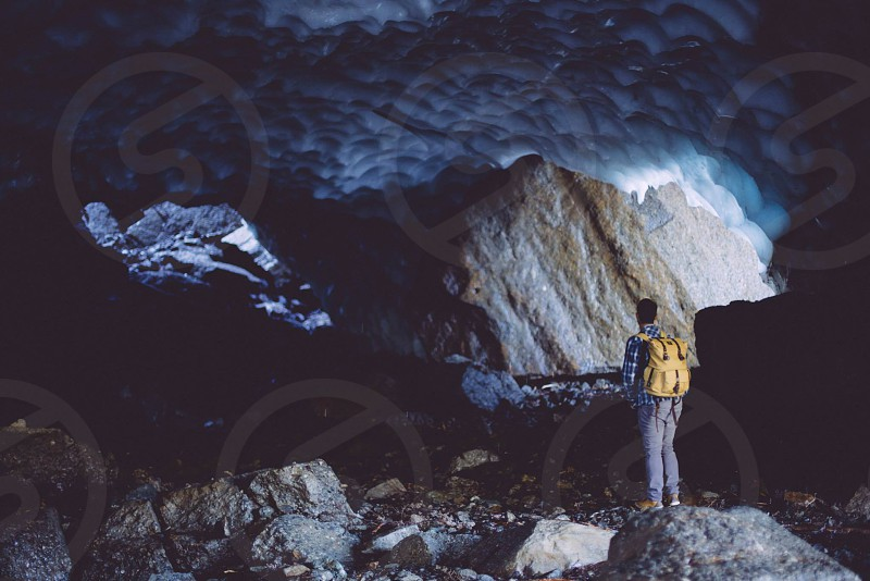 Exploring Ice Caves photo