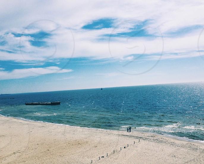 sky & sea photo