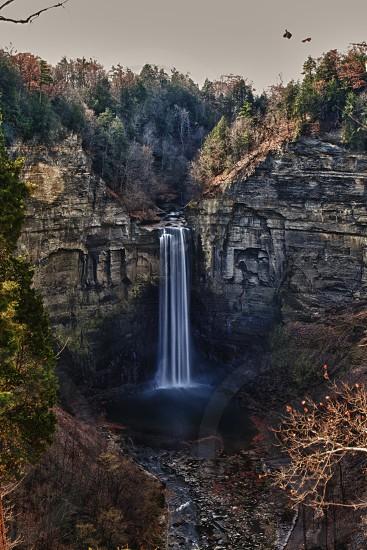 view of waterfalls photo