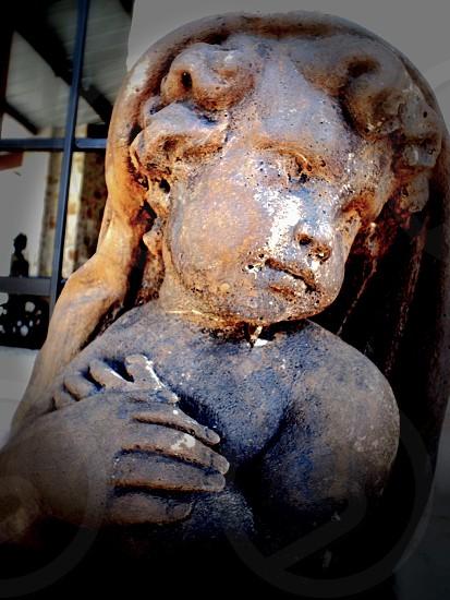 cherub statuette photo