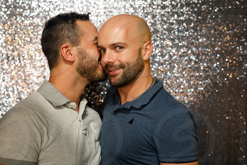 Gay Couple in love photo