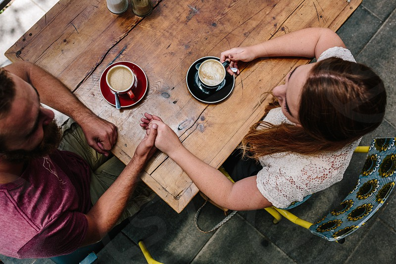 Couple spending quality time together  photo