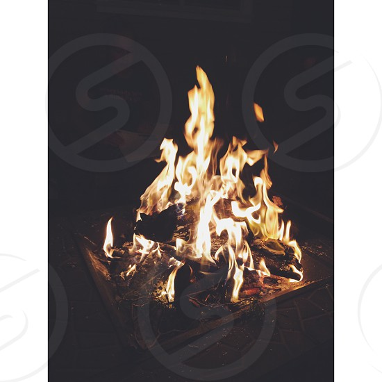 fire camp  photo