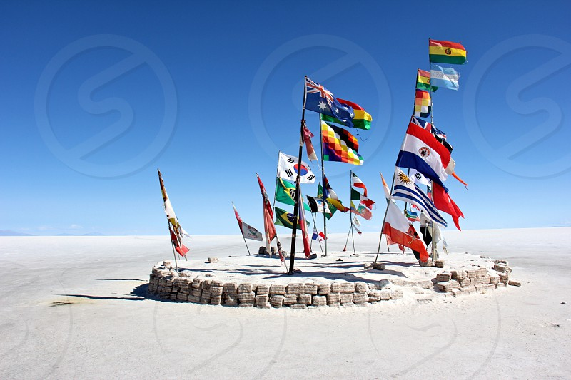 bolivia flags of the world travel south america backpacking wanderlust southwest circuit uyuni photo