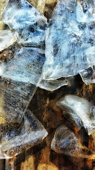 Ice In HDR. photo