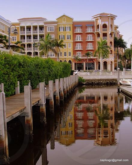 Reflection at Bayfront.  photo