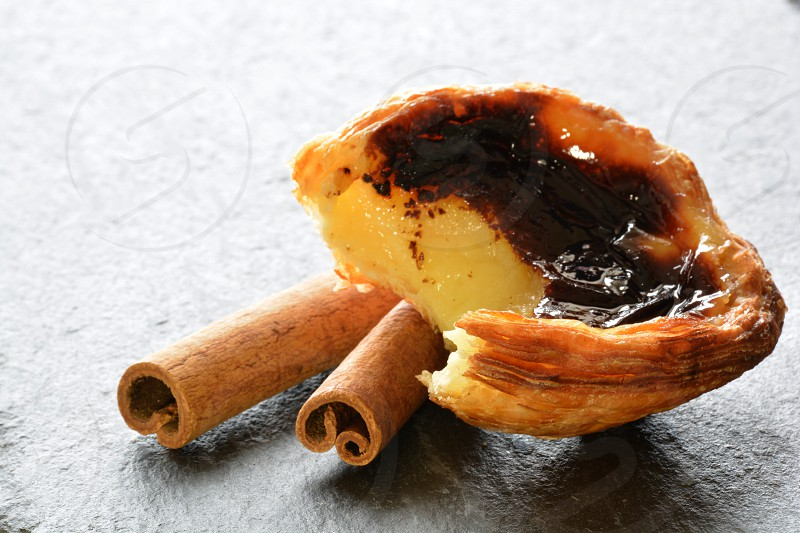 Custard Tarts Pastéis de Nata recipe Portuguese Custard Tarts recipe tasty treats photo
