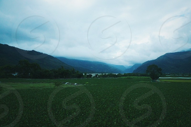Valley from the train Taiwan photo