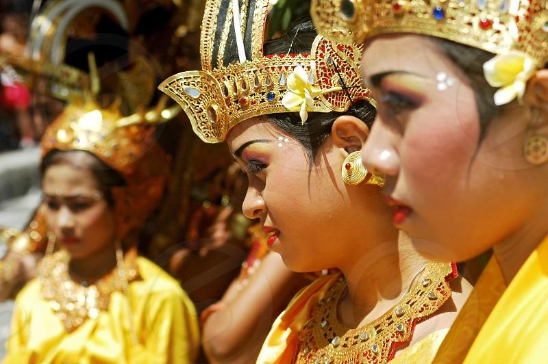 Bali creative carnival parade in Kuta photo