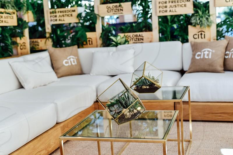 interior decor design for private citi corporate event photo