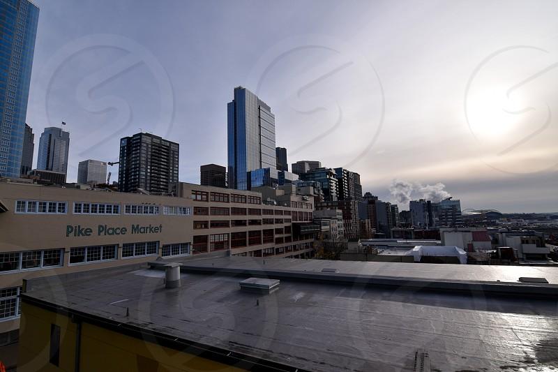 Seattle's famous Downtown neighborhood photo