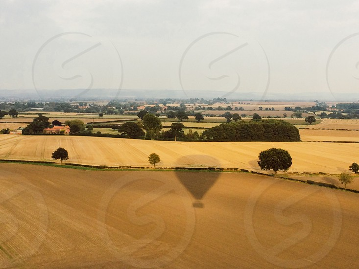 #hotairballoon #balloon #countryside #yorkshire photo