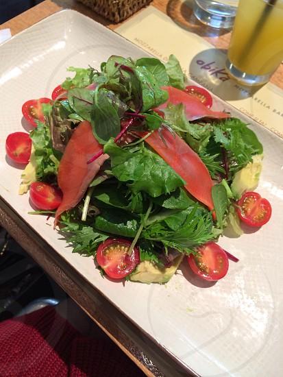Healthy Italian salad  photo