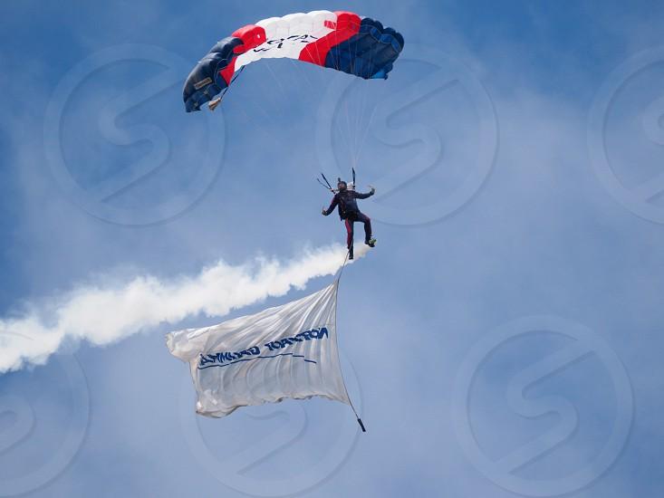 Royal Navy Parachute Team photo