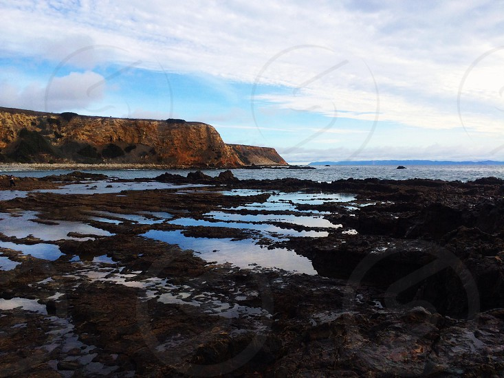 sea shore photo photo