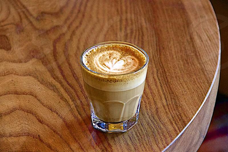 Latte art!  photo