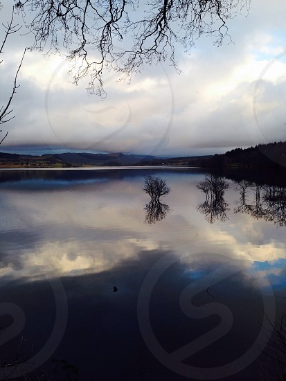 Scottish Lake Mirror photo