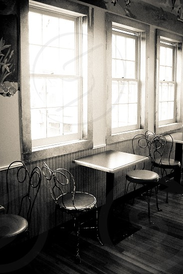 Table for two; Mystic Connecticut photo