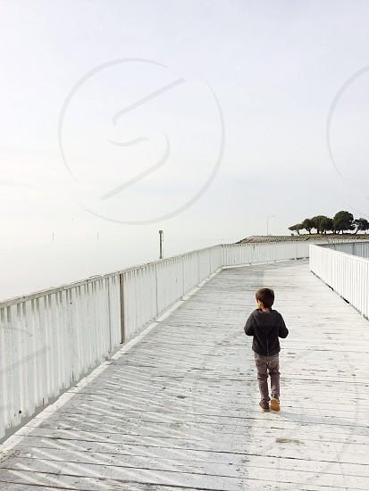 child's black hooded sweatshirt photo