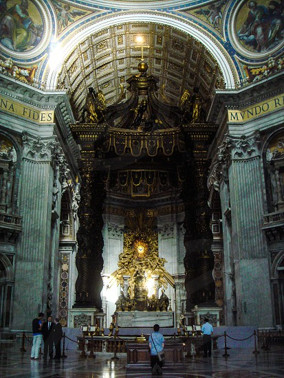 St. Peters Basilica in Vatican City Italy photo