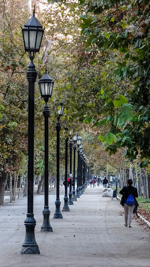Parque Florestal - Santiago Chile photo