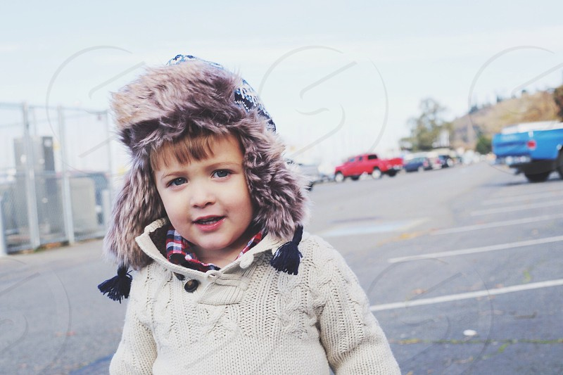 Bundled up for the next adventure... photo