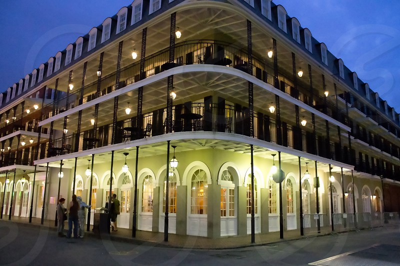 New Orleans LA Bourbon Street Louisiana  photo