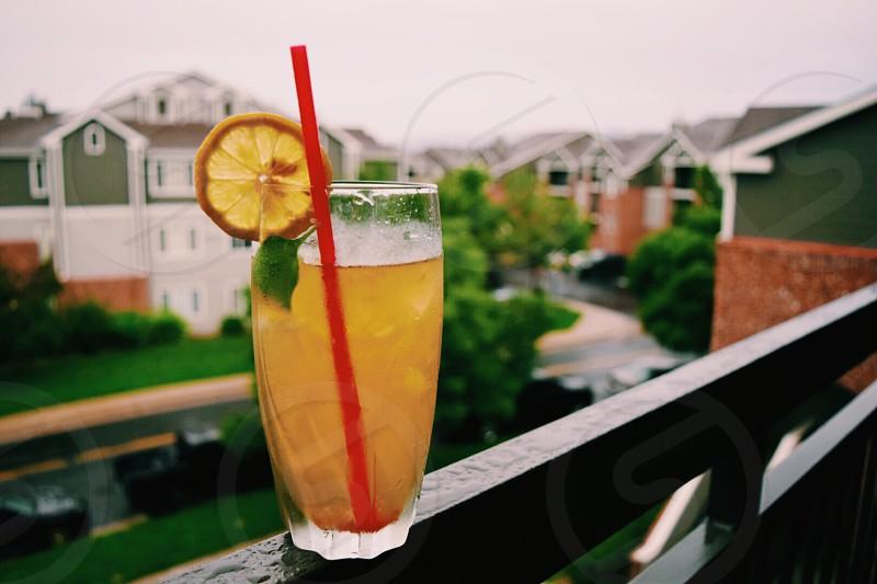 drinkcocktailpatiobalconyweekendsummer photo