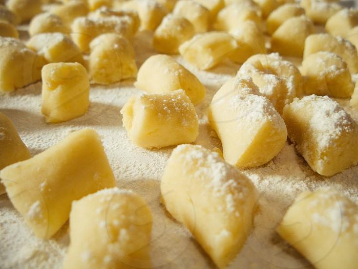 gnocchi patata grandma's recipe pasta flour white potato potatoes main dish first dish italian food traditional photo