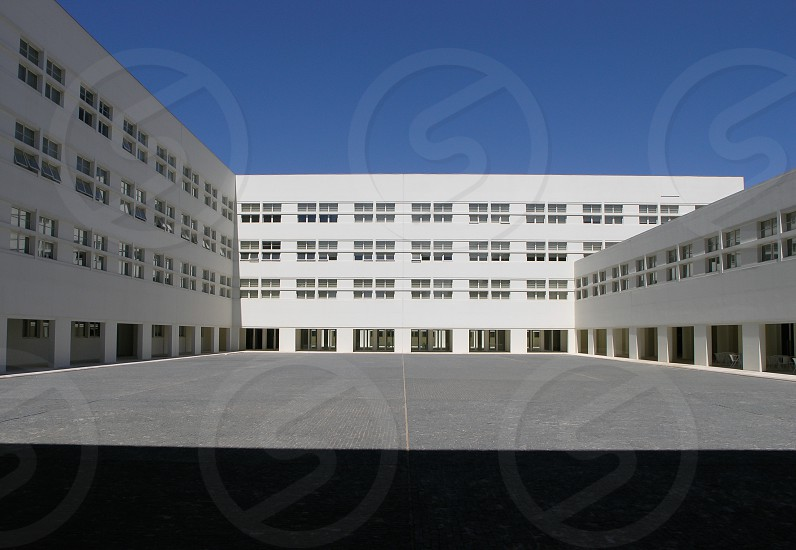 white building photo
