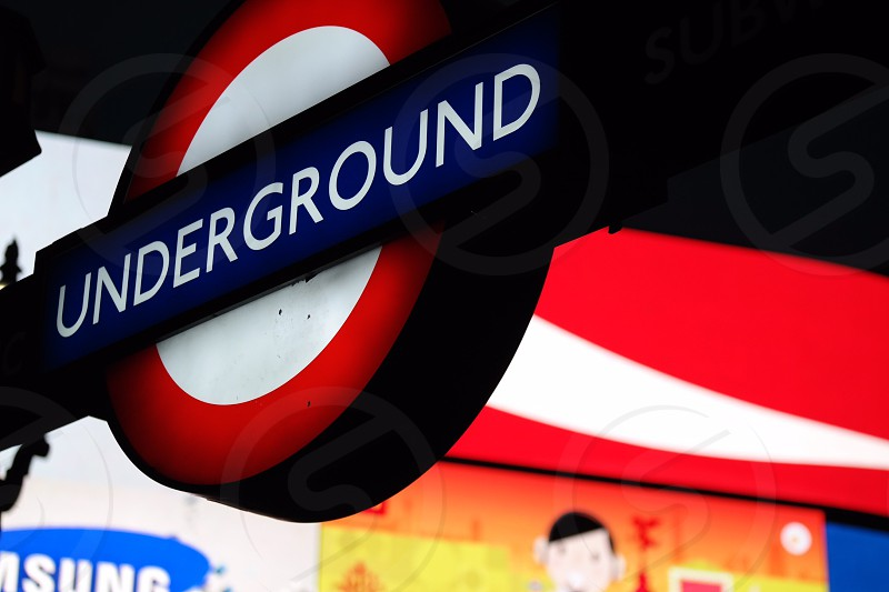 London Underground has defined the british heritage for many years! Changing with modern times but keeping its originality heritage and tradition!  photo