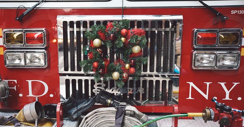 Christmas around the world - New York photo