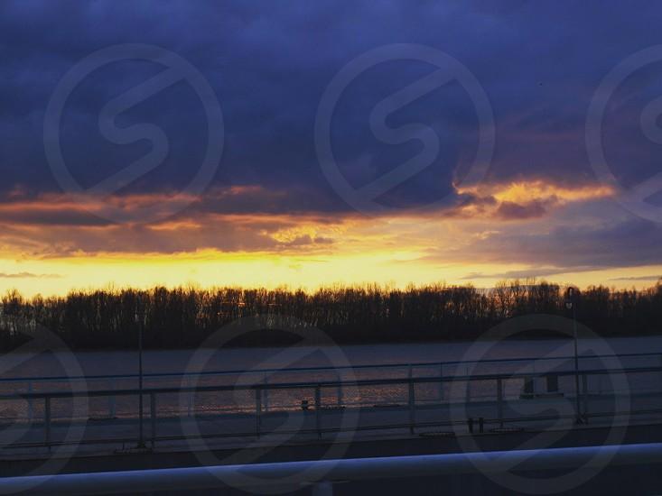 sunset#Danube#Bessarabia#winter#nature photo