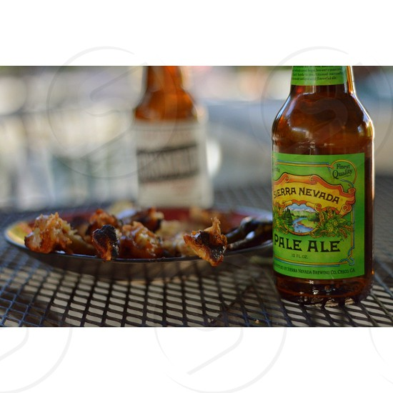 The finer things in life. Brew & BBQ.   photo