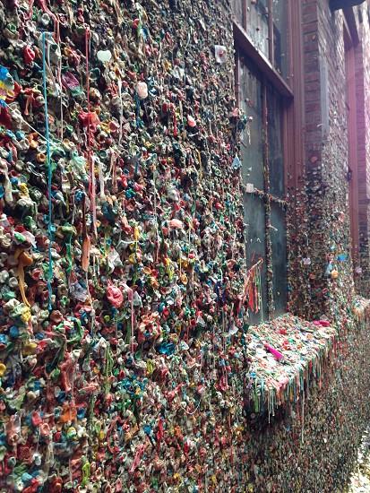 Gum Wall Seattle WA photo
