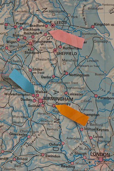 Map maps cartography office route photo