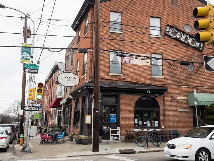 Restaurants along fairmount avenue photo