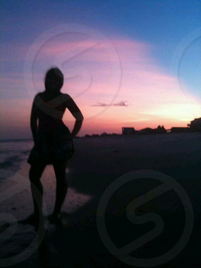Sunset at St George Island FL photo