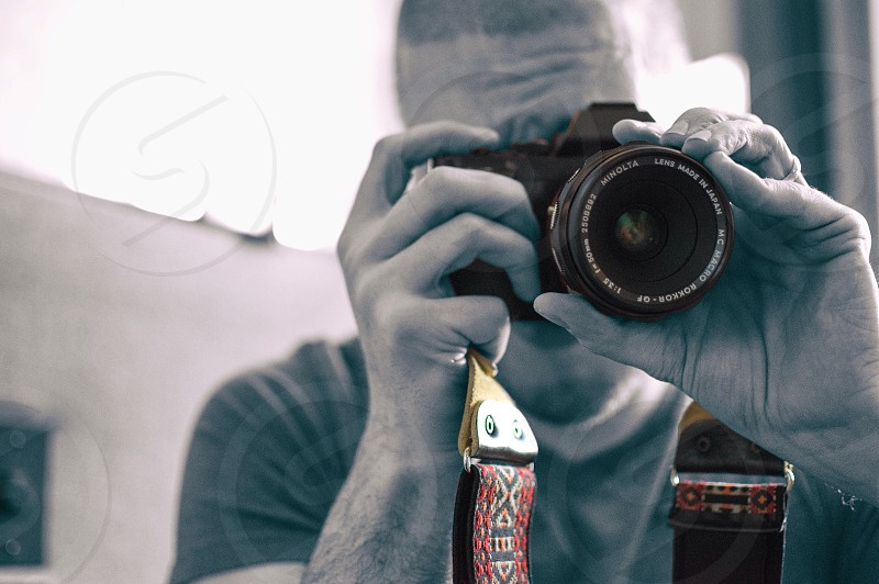 Blackandwhiteandcolour Nikon photo