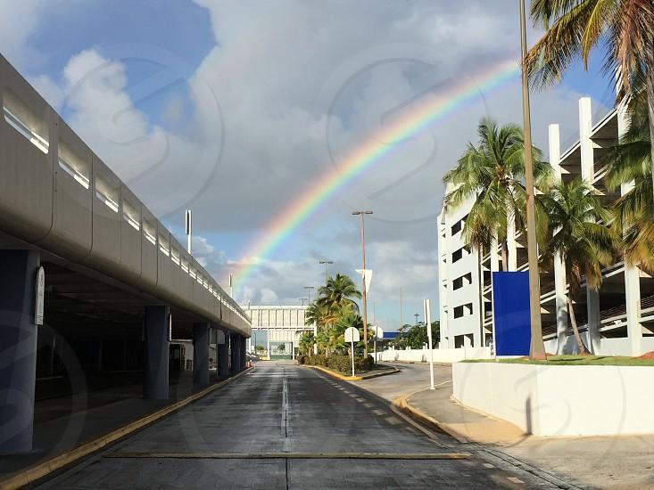 Rainbow in the City photo